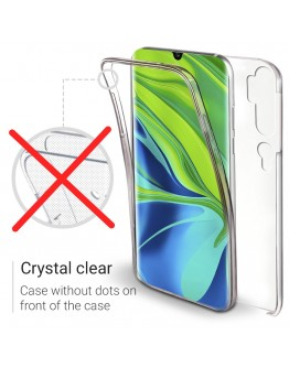 Moozy 360 Degree Case for Xiaomi Mi Note 10, Mi Note 10 Pro - Full body Cover - Hard PC Back and Soft TPU Silicone Front