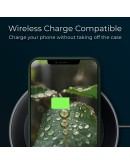 Moozy Lifestyle. Silicone Case for iPhone 13, Dark Green - Liquid Silicone Lightweight Cover with Matte Finish and Soft Microfiber Lining, Premium Silicone Case