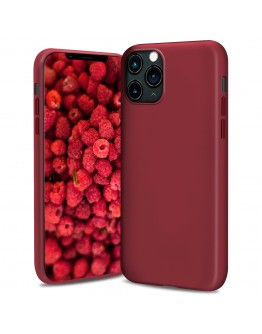 Moozy Lifestyle. Silicone Case for iPhone 13 Pro, Vintage Pink - Liquid Silicone Lightweight Cover with Matte Finish and Soft Microfiber Lining, Premium Silicone Case
