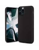 Moozy Lifestyle. Silicone Case for iPhone 13 Pro Max, Black - Liquid Silicone Lightweight Cover with Matte Finish and Soft Microfiber Lining, Premium Silicone Case