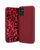Moozy Lifestyle. Designed for Samsung A52, Samsung A52 5G Case, Vintage Pink - Liquid Silicone Lightweight Cover with Matte Finish and Soft Microfiber Lining, Premium Silicone Case